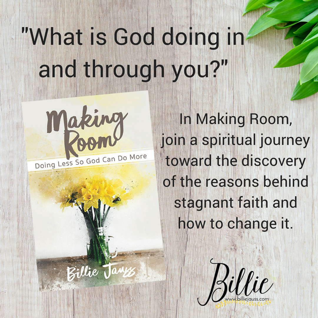 Making Room book on the table- what is God doing?